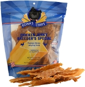 102 - FULL CASE Chicken Jerky Breeders Special 16 oz - 12 Ct